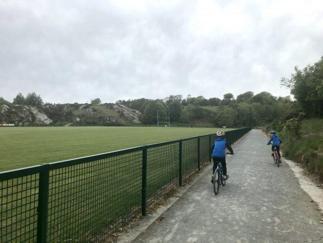 The new pitch built by the local GAA club   Ian Doyle