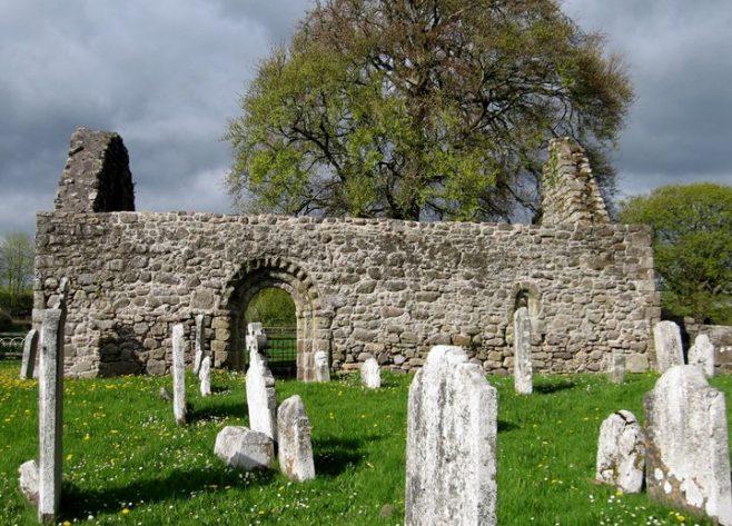 Kilcash church and graveyard