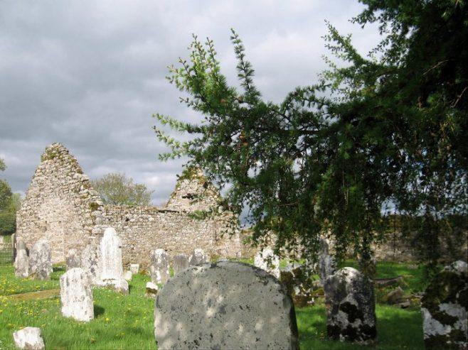 Kilcash church graveyard