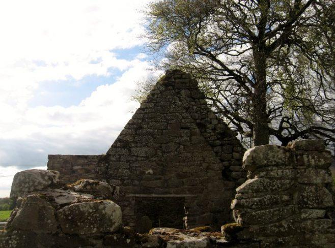 Kilcash church gable