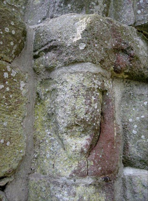 Kilcash church architectural detail