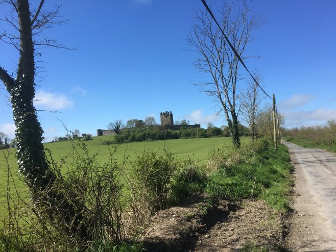Knockelly Castle | Taken by Mollie Standbridge while out walking on the public road.