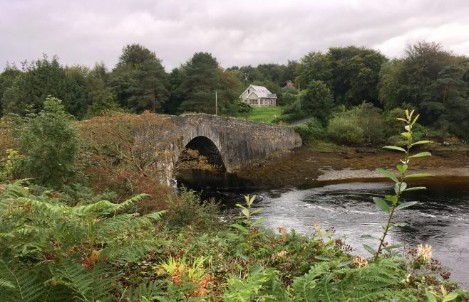 Lackagh Bridge c.1755 on the R940 in Co Donegal | Angela Gallagher