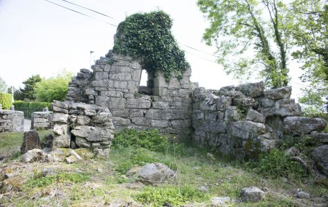 Early Christian Oratory (Private Chapel) Rosscahill. Co. Galway