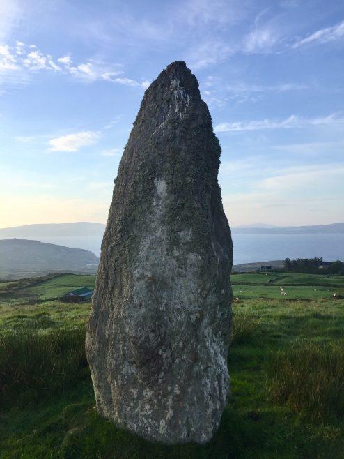 Bere Island Standing Stone | Helen Riddell