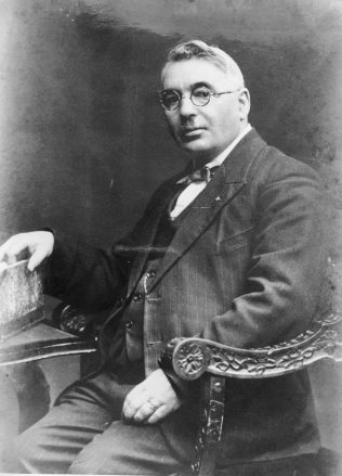 A portrait of Thomas H. Gillespie.   Tom Gillespie Collection