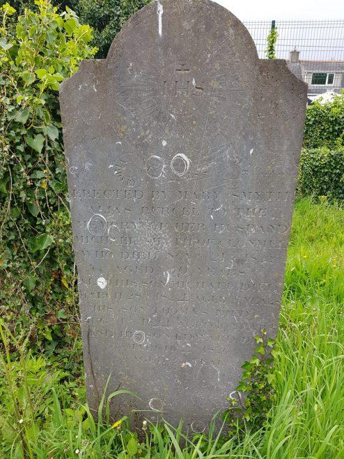 Surviving headstone | Tara Clarke