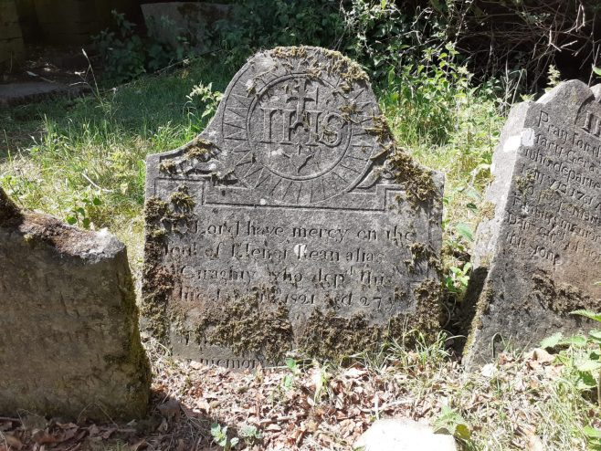 graves from 1700's and 1800's | Susan Clarke