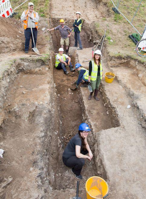 Excavating at Gallows Hill, 2019 | John Foley