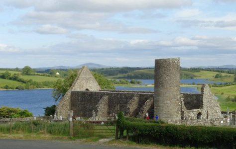 Drumlane Abbey Church and Round Tower