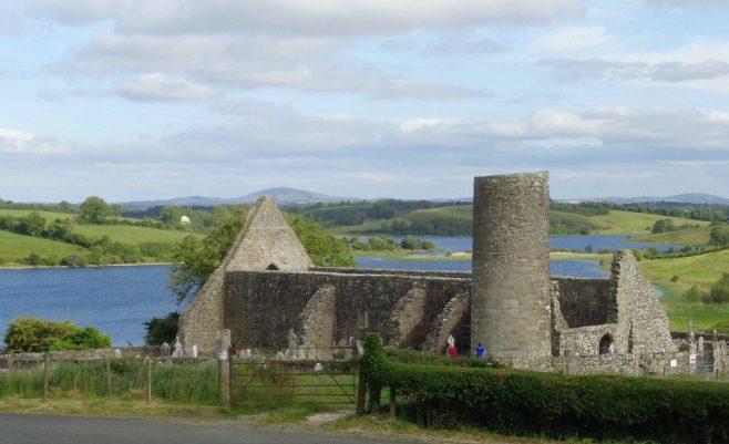 Drumlane church and round tower | Christopher Kirk