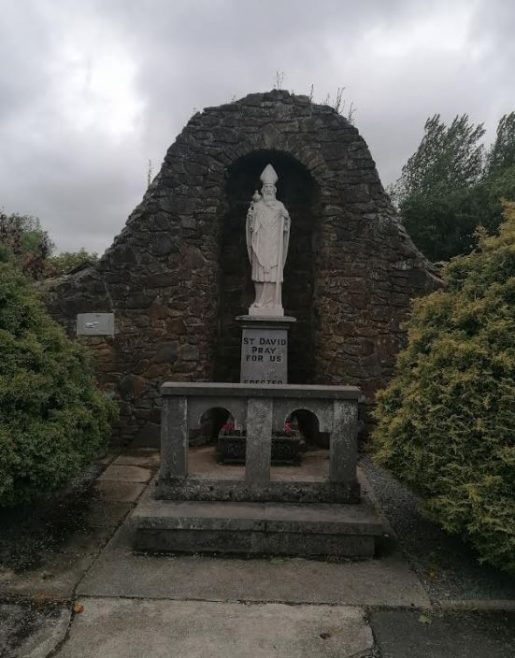 Grotto beside the well | Samantha Morris