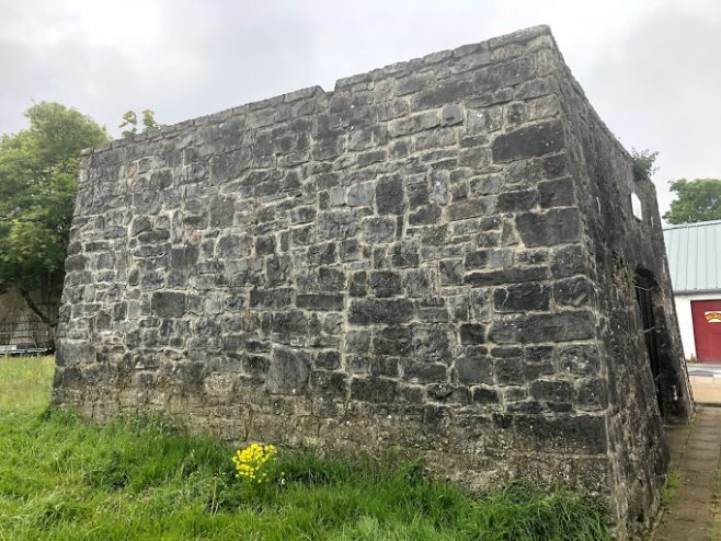 Left side view of Lime Kiln | Thérèse McIntyre