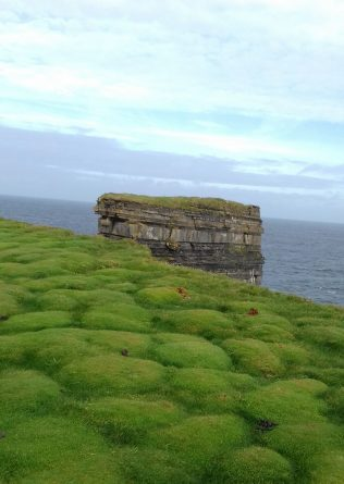 Dun Briste from top of Downpatrick Head, North Mayo | Author's Personal Collection