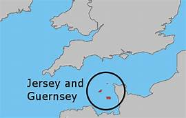 Islands of Jersey & Guernsey | https://commons.wikimedia.org/wiki/File:Uk_map_jersey_and_guernsey.png