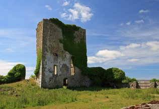 Castle Burke by Mike Searle |  https://www.geograph.ie/photo/1954316