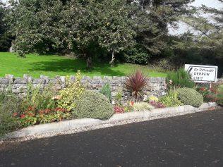 The sign in Ballyheane village pointing westwards towards Derrew, birthplace of Thomas Larkin.  | Michael Larkin