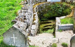 St. Patrick's Holy Well, Ballintubber, Co. Mayo | https://www.irishcentral.com/travel/best-of-ireland/ireland-holy-well