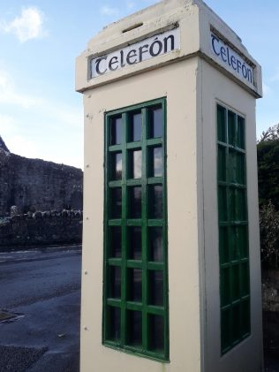 While the first transatlantic telephone call was made between New York and London in January 1927, it took many more years before the telephone network, operated by the Dept. of Posts & Telegraph became available throughout Ireland.  | Michael Larkin