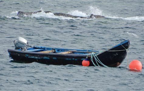 Currach fishermen of Clare Island
