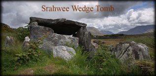 Srahwee Wedge Tomb, Louisburgh. Co. Mayo | https://irishmegaliths.org.uk/mayo.htm