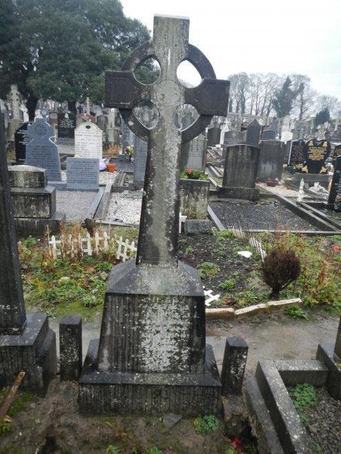 Mary Hayes' grave in Mount Saint Lawrence cemetery, Limerick | Paul Dunne