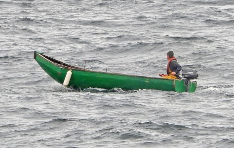 An afternoon with a currach fisherman