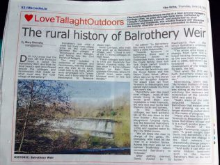 Memoir of Mr Corrigan, resident of Balrothery | Tallaght Community Council