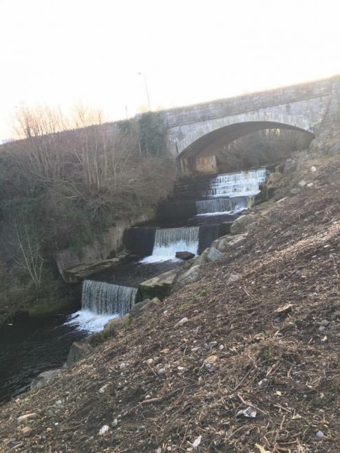 Bridge and waterfall | Tallaght Community Council