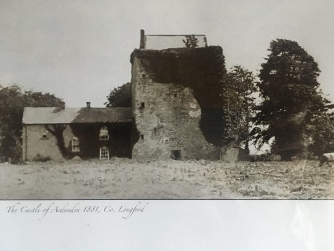 Ardandragh Castle about twenty years before it was demolished | Shaw family