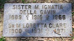 Gravestone image by Jokerr | https://www.findagrave.com/memorial/165414457/mary-ignatia-gavin_csa