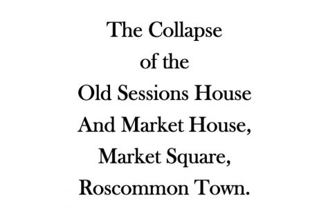 Roscommon Town Market House, Court House, Sessions House, 1719.