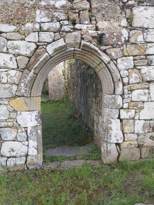 Kilmolash Church, Romanesque doorway on north-facing wall | Trisha Ryan