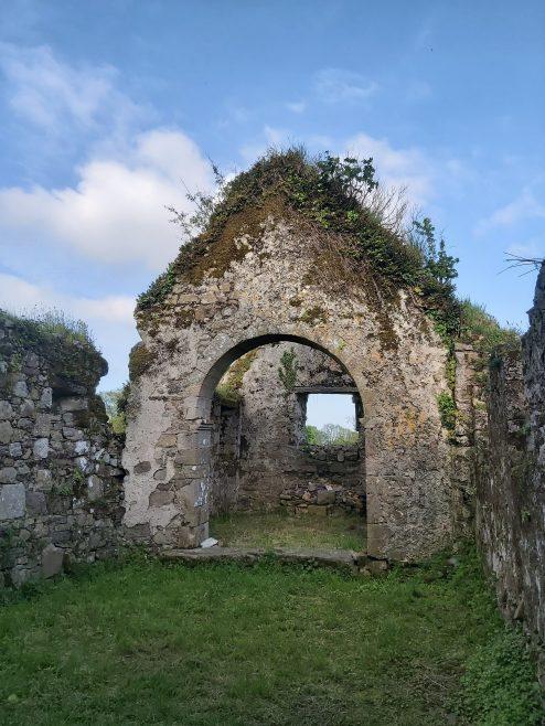 Kilmolash Church, chancel arch separating nave and chancel  | Trisha Ryan