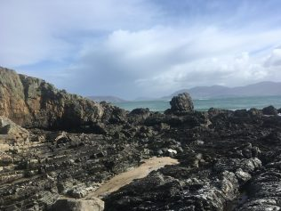 The Mass Rock at Doaghbeg Shore, Fanad, Co. Donegal | Mary O'Doherty