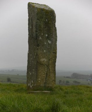 Breastagh Ogham Stone | https://www.megalithicmonumentsofireland.com/COUNTIES/MAYO/Breastagh_OghamStone.html