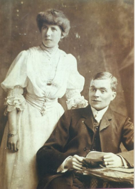 Albert & Ethel Shaw, Wedding Day, Ennis, 10 July 1906 | Eric Shaw
