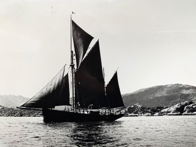 The 45 ton Brixham Trawler