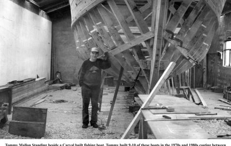 Oughterard Boat Builder -Tommy Mallon