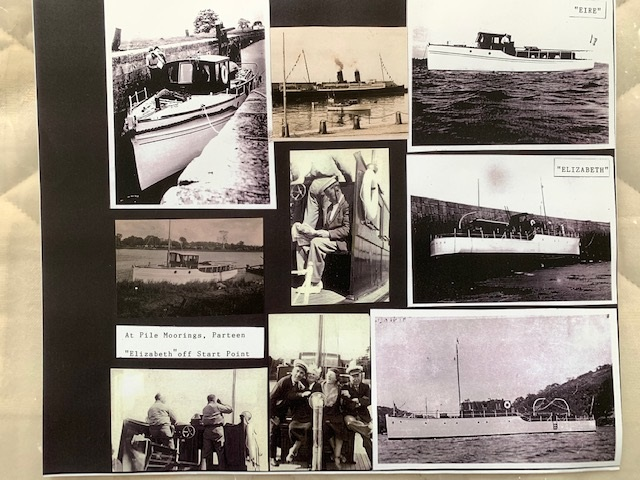 Photographs included in the Boating History   McMahon Family Archive