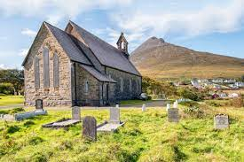 St. Thomas's Church Dugort Achill 2018 by Mick Reynolds   https://commons.wikimedia.org/wiki/File:County_Mayo_-_St_Thomas%27s_Church_-_20180923140609.jpg