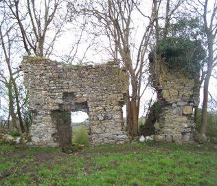Ashbrook House Ruins by Dympna Joyce   Dympna Joyce Personal Collection