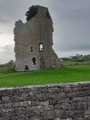 Donomona Castle Clogher, Mayo | Author's Personal Collection