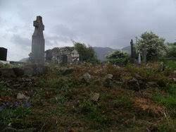 Gloshpatrick Church Ruins in Graveyard by Dympna Joyce | Dympna Joyce Personal Collection