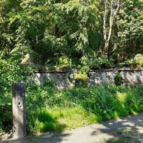 Charleville House ruins, Turlough   Noelene Beckett Crowe