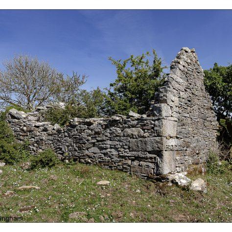 Deserted Village, house of James & Mary Travers   Seamus Bermingham