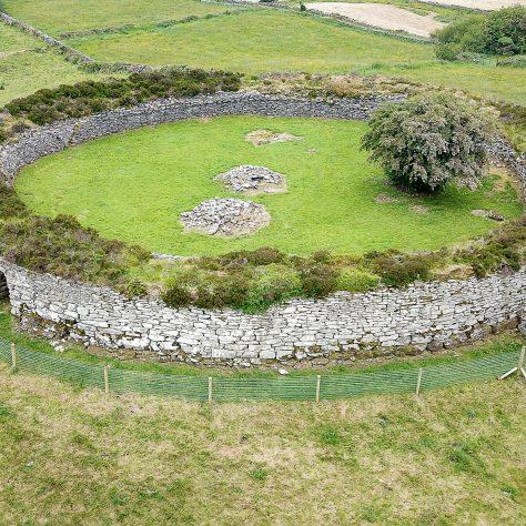 Kilcashel stone fort at Kilmovee   Seamus Bermingham