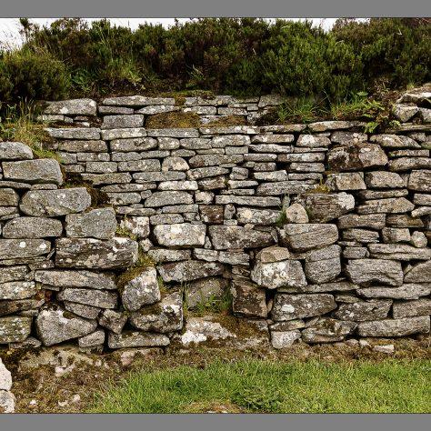 Inside Kilcashel stone fort   Seamus Bermingham