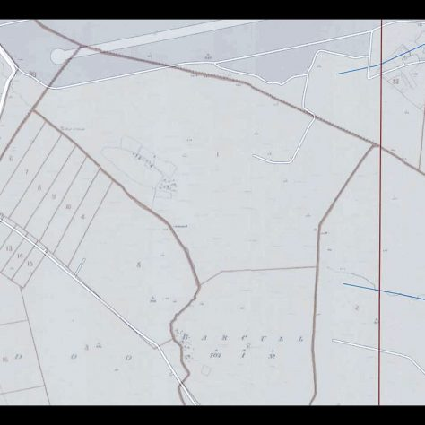 Map Barcull Deserted Villag   Seamus Bermingham