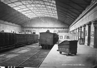 Galway Railway Station, c. 1877. | Courtesy of the National Library of Ireland.